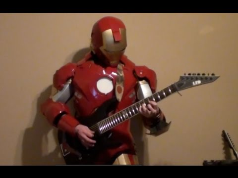 Marvel's Iron Man Meets Metal