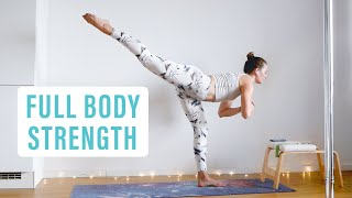ONE HOUR FULL BODY WORKOUT // full week of workouts day 6