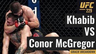 Conor McGregor vs. Khabib Nurmagomedov (UFC 229 Gracie Breakdown)