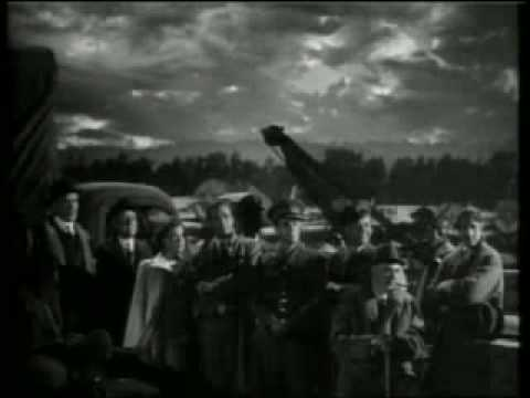 British World War 2 Propaganda film clip - Sherlock Holmes