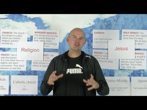 Lesson 2 - Religion Or Jesus - The Pioneer School