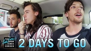 One Direction Carpool Karaoke: 2 Days to Go