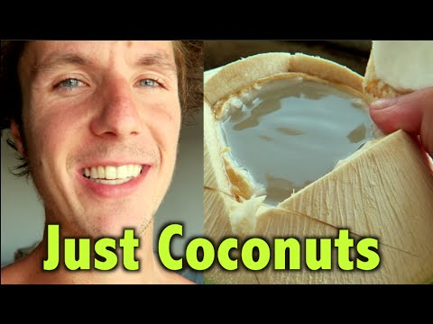 Why I Don't Eat Greens & Vegetables and Drink Coconuts Instead