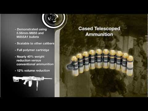 Textron Systems - Lightweight Small Arms Technologies (LSAT) [720p]