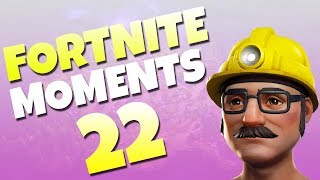 Fortnite Daily Funny and WTF Moments Ep. 22