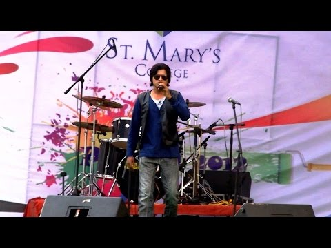Dil Ne Tum Ko Chun Liya | Singer Kabir Rafi Live | St.mary College Hyderabad video