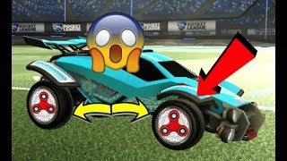 *NEW* FIDGET SPINNER WHEELS COMING TO ROCKET LEAGUE!!!