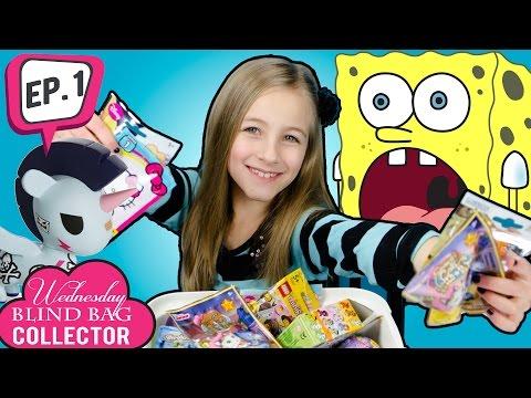 Wednesday Blind Bag Collector Ep.1 Toys Unicorno Lego Kinder Surprise Spongebob Trash Packs   PLP