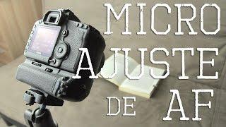Microajuste de AF (ajuste fino de auto foco)