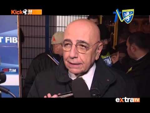 INTERVISTA ADRIANO GALLIANI Frosinone-Milan