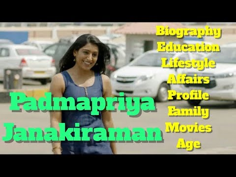 Padmapriya Janakiraman Biography | Age | Family | Affairs | Movies | Education
