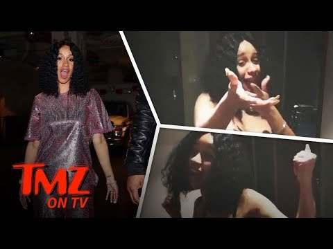 Cardi B Posts Six-Pack Video Amidst Pregnancy Rumors | TMZ TV
