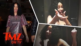 Cardi B Posts Six-Pack Video Amidst Pregnancy Rumors | TMZ TV