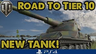 AMX 50 120 - NEW TANK! Road to Tier 10 - WoT Console