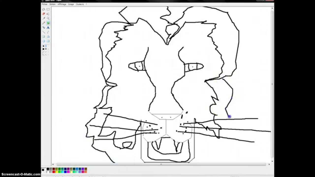 - Comment dessiner un lion ...