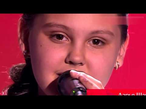 Melodramma(Andrea Bocelli).Дарья Шаврина.The Voice Kids 2015 Russia.