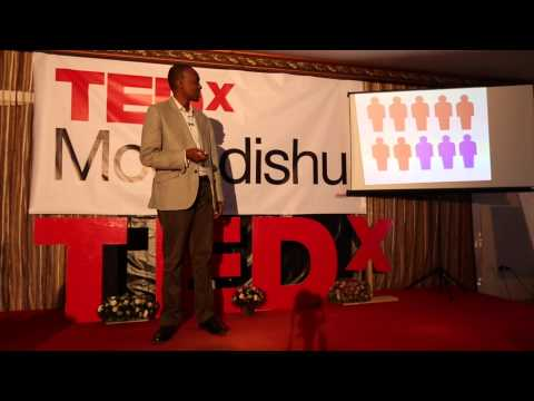 Partnerships are the answer to youth unemployment in Somalia | Mohamed Ali | TEDxMogadishu