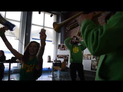 Lisbon's Farra Fanfarra invades the New Bedford Whaling Museum
