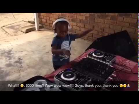 Baby DJ from Africa