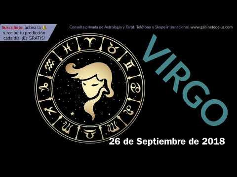 Horóscopo Diario - Virgo - 26 de Septiembre de 2018