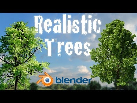 Create Realistic Animated Trees Beginner Blender Tutorial