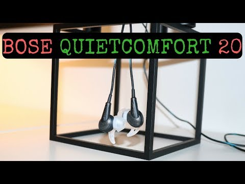 Bose Quietcomfort 20 review | All you need to know!