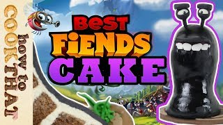 Best Fiends Slug CAKE How To Cook That Ann Reardon