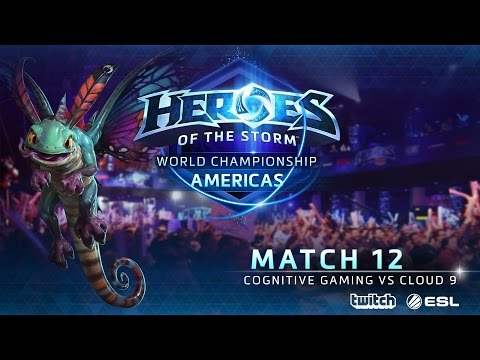 COGnitive vs Cloud 9 - World Championship Americas - Match 1