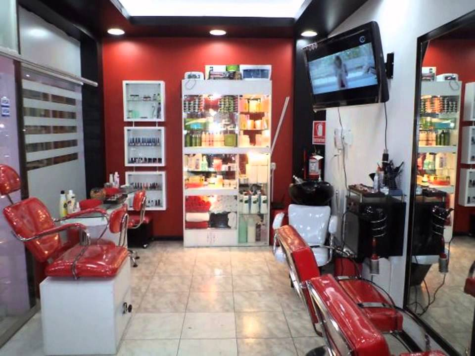 Servicios de salones de belleza youtube for Salones de peluqueria decoracion fotos