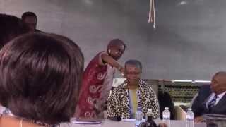 Remise du Prix International Cheikh Anta Diop