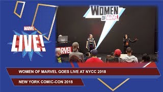 Women of Marvel: Picture This LIVE at New York Comic Con 2018!