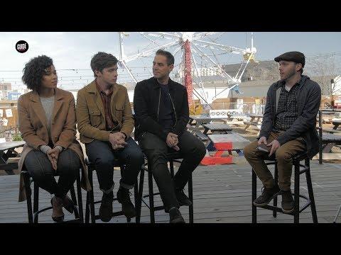 Love, Simon Interview In Dallas W/ Nick Robinson, Alexandra Shipp & Greg Berlanti
