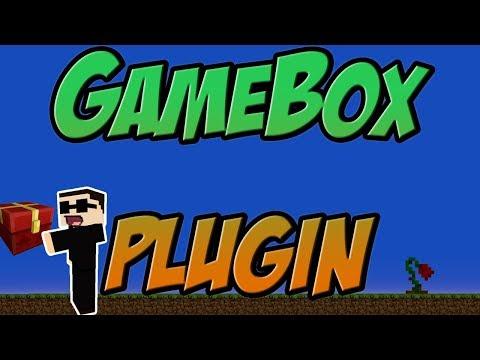 GameBox Plugin Minecraft Bukkit 1.8 | 1.12 Spigot | German| | Tutorial