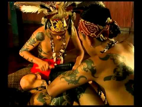 Kelingai Iban Tattoo Documentary