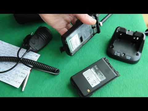 ICOM IC-V80 handheld review
