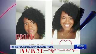 Nurse found strangled to death in Queens bedroom