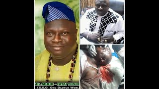 Sad! Popular trado-medical practitioner, Alh. Yusuf Fatai Aka Oko Oloyun Shot Dead By Unknown Gunmen
