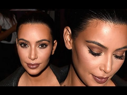 Kim Kardashian Makeup & Hair Tutorial | Givenchy Fashion Show