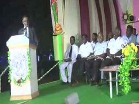 MNUJNHSS 57TH Annual Day Chief Guest Dr  P  Jothimani   Speech 2013 2014