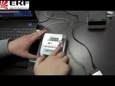 Перепрограммирование электросчетчика своими руками