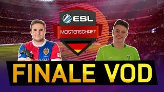 TIMOX VS. THESTRXNGER | FINALE ESL Meisterschaft Winter FIFA 18