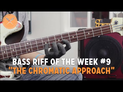 the Chromatic Approach - Bass Riff Of The Week #9 (l#130) video
