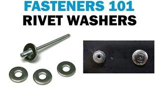 How To Install Backup Rivet Washers VS Large Flange Rivets | Rivets 101