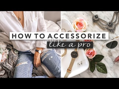 How to Wear Accessories Like a Pro | by Erin Elizabeth - YouTube