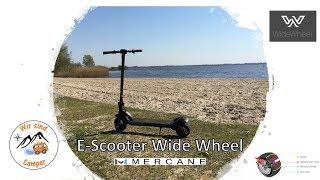 Mercane Wide Wheel E-Scooter für Wohnwagen und Wohnmobil