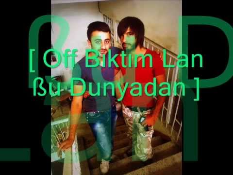 [ Off Bıktım Lan ßu Dunyadan ] Kürtçe Türkçe Arabesk Rap 2012- 2013 video