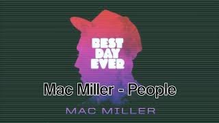 Watch Mac Miller People video