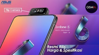 INOVASI BARU!!! | Zenfone 6 Resmi Rilis, Hadir Dengan Flip Camera