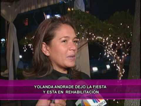 Yolanda Andere ¿En rehabilitación?