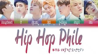 BTS (방탄소년단) - 'Hip Hop Phile (힙합성애자)' [Color Coded Lyrics Han|Rom|Eng]